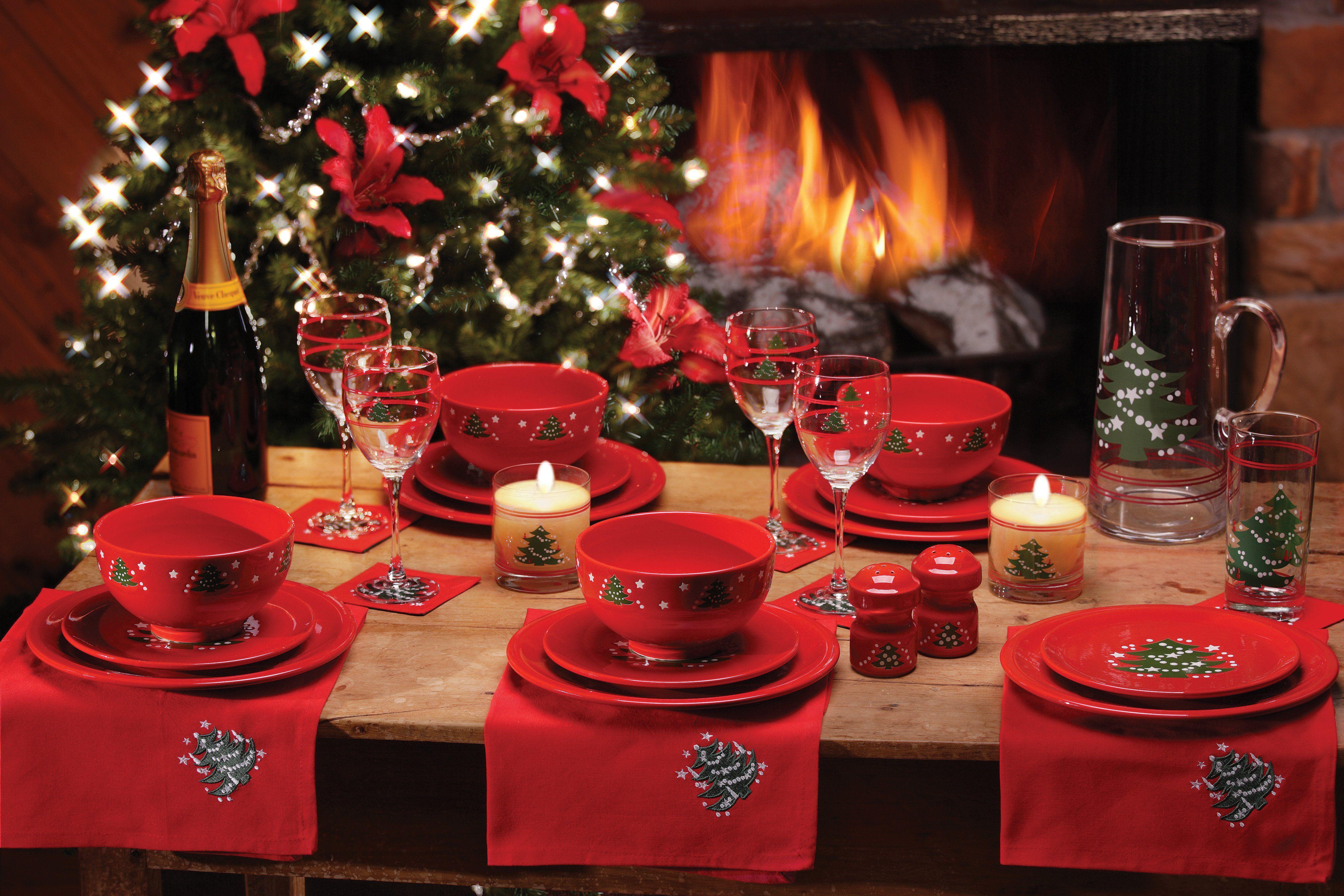 Vintage Waechtersbach Christmas Tree Dinnerware