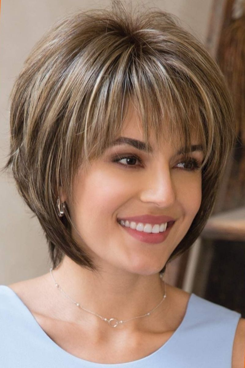 13 Flattering Short Hairstyles For Thick Hair Short Hairstyles For Thick Hair Short Hair With Layers Short Hair Styles