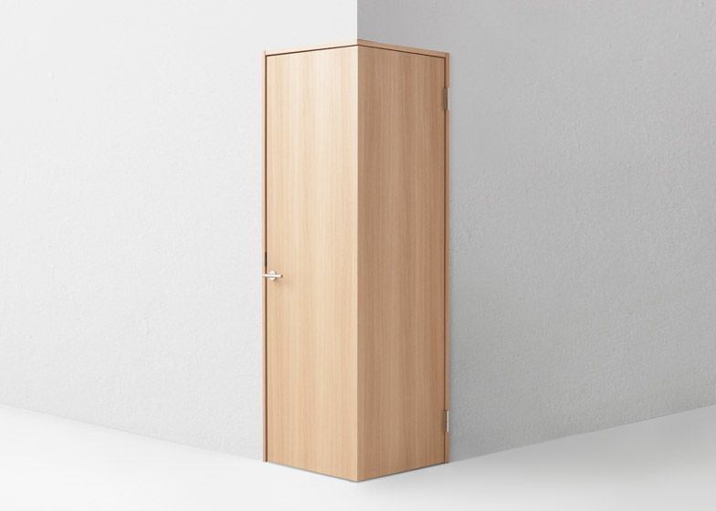 Nendo's door concepts include designs for wheelchair users