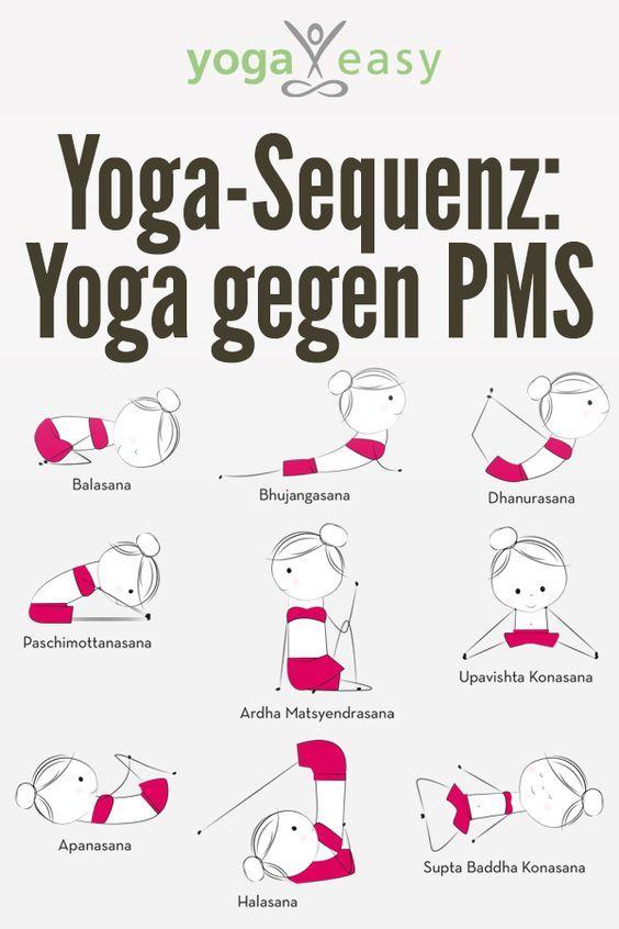 Yoga gegen PMS - mit Übungssequenz (mit Bildern) - Yoga..