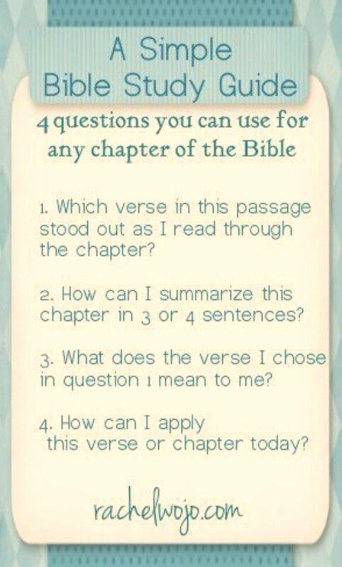 Bible Study    Bible   Bible study guide, Bible study tips, Bible