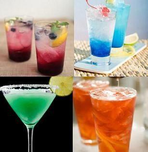 Captain Drink Recipes