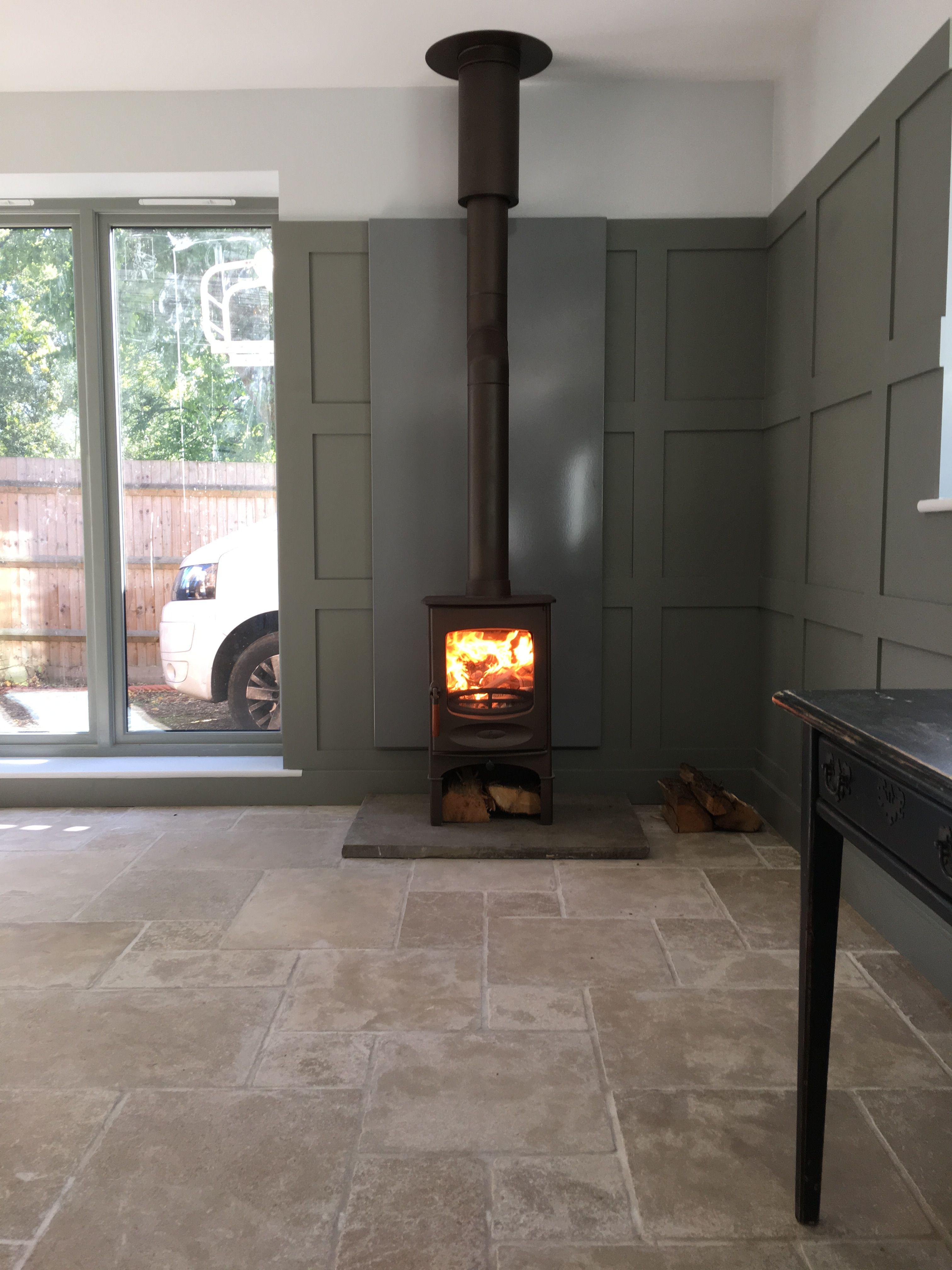 Charnwood C4 S S With Vlaze Heat Shield