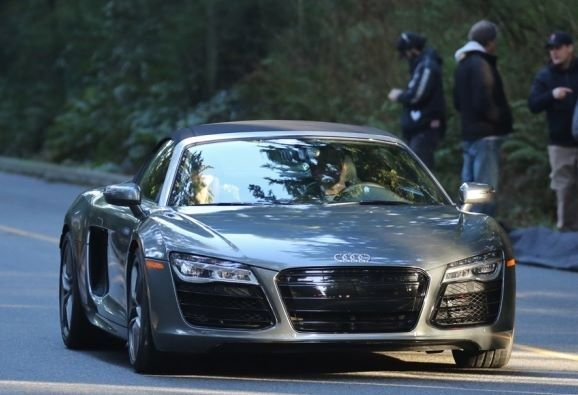 Audi R8 From The Set Of The Fifty Shades Of Grey Movie