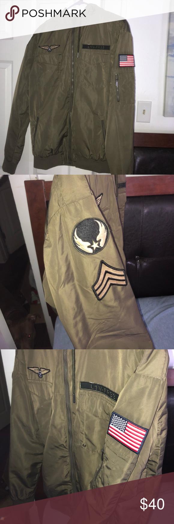 Bomber Jacket Army Green Bomber Jacket Jackets Bomber Jacket [ 1740 x 580 Pixel ]