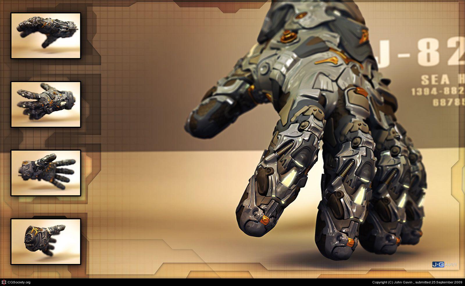 Tech-Glove by John Gavin | 3D | CGSociety