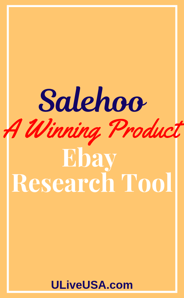 Salehoo A Winning Ebay Product Research Tool Create Digital Product Ebay Make More Money