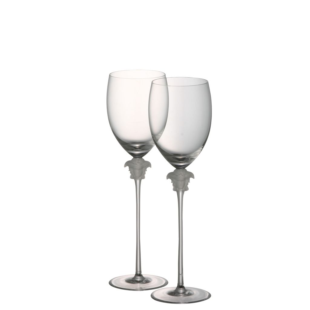 baf573e06c23 The Home Collection - Versace Rosenthal Stemware   Versace Medusa Lumiere  Gb 2 water  500.00