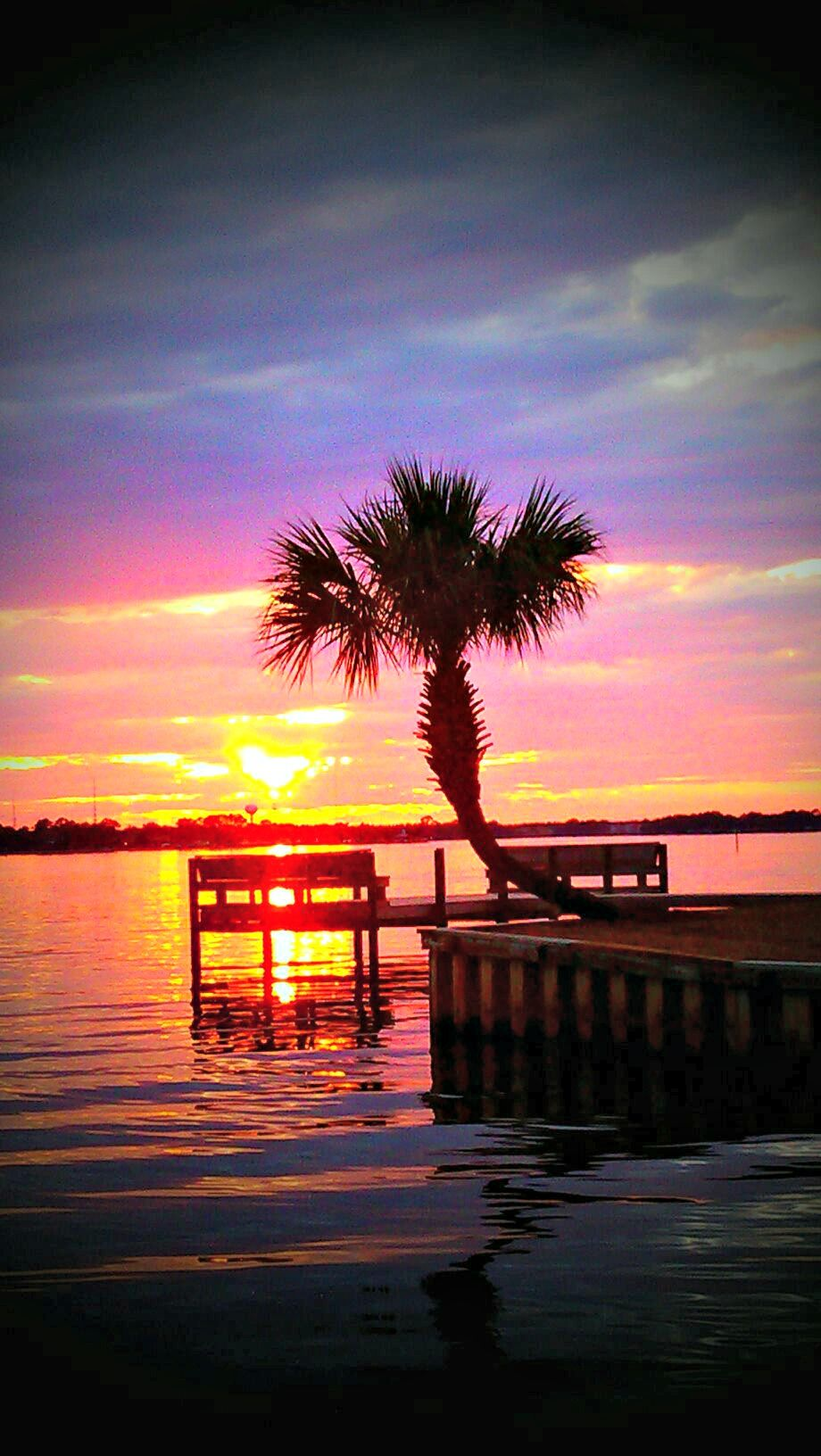 A Gorgeous Sunset Over Fort Walton Beach With Images Fort