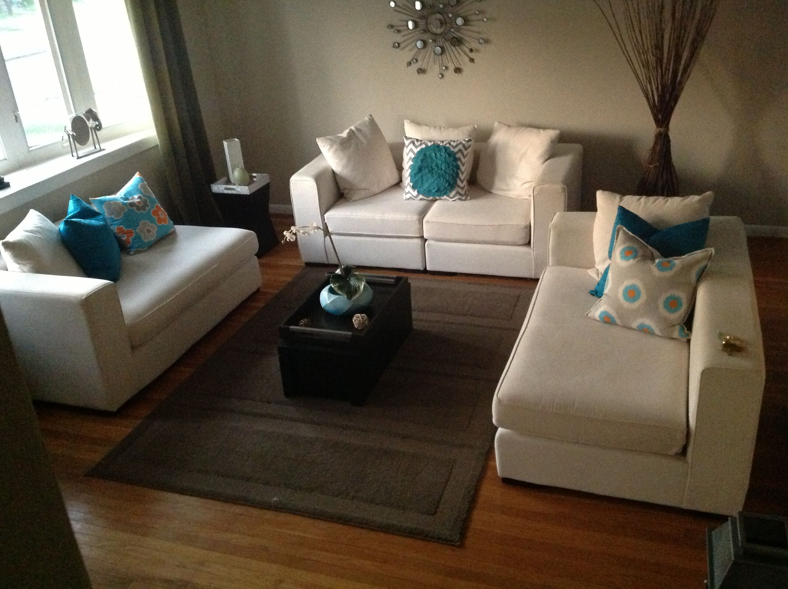 newest 80d77 53619 Home goods and west elm pillows, walton sectional WE.ikean ...