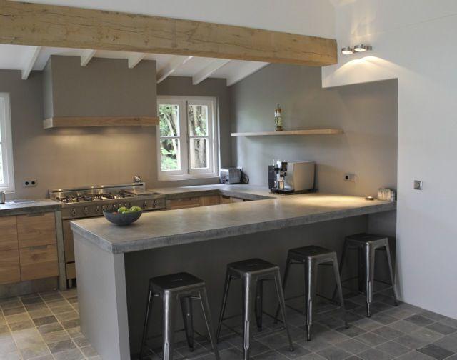Keuken Ikea Houten : Eiken houten keuken door koak design op woonboot in amsterdam met