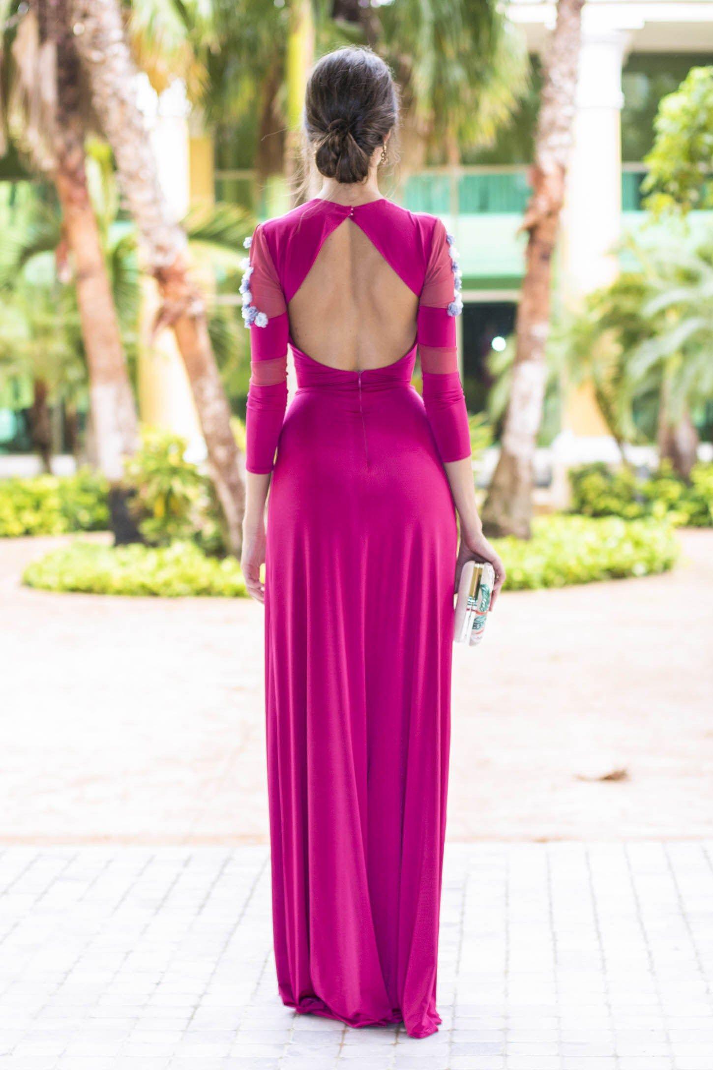 invitada boda fernando claro costura vestido noche | vestido | Pinterest