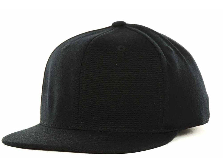 By Lids Stretch Fitted Blank Slam One Fit Flex Baseball Hat Cap Black Co186nou3wd Hats Baseball Hats Hats For Men