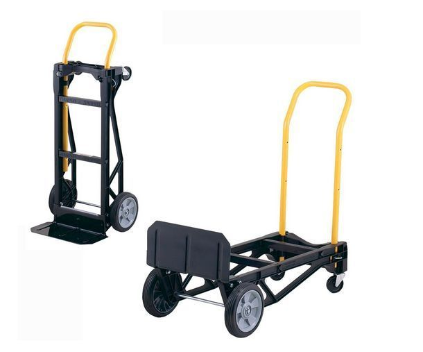 Foldable Hand Truck Moving Dolly Cart Grocery Cart Utility
