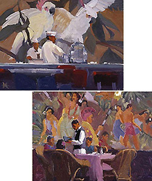 Murals I Wished I'd Seen - Ken Auster - World-Wide-Art.com