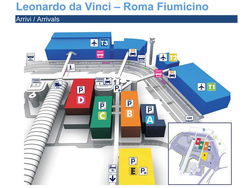 Fiumicino Airport Map Rome Leonardo Da Vinci Express Is Right At - Rome map with airports