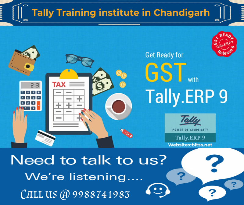 Tally Training Institute In Chandigarh Cbitss Technologies Sco 23 24 25 Sector 34 A Chandigarh For More Info Call Us 9988741983 Institute
