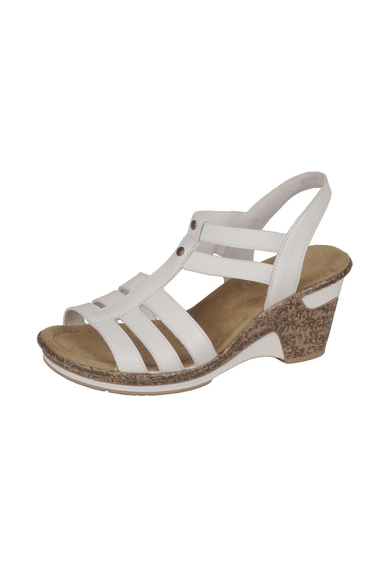 snygga sandaletter med klack