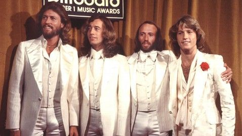 Barry , Robing, Maurice and the youngest Andy Gibb.