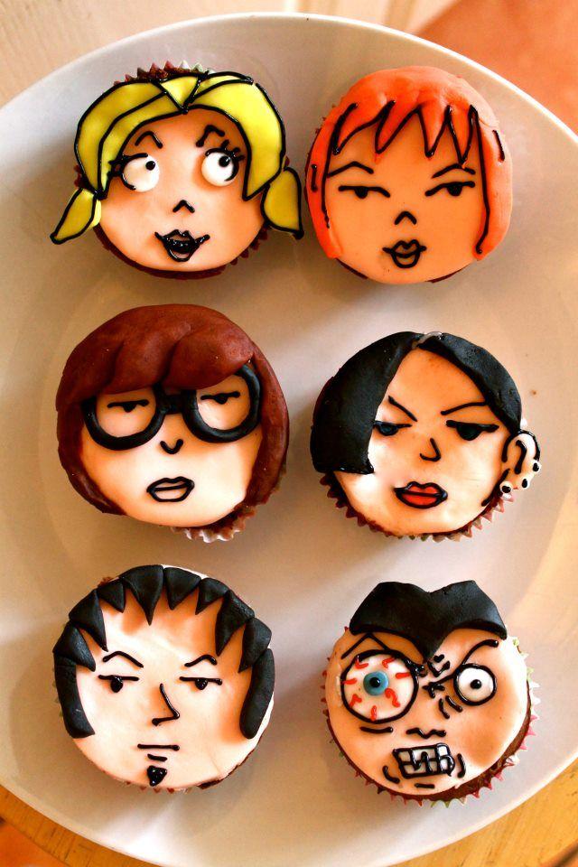 ¡De Lunes a Viernes, cupcakes y Daria a las 22hs por MTV (canales 73 y 602 digital)!