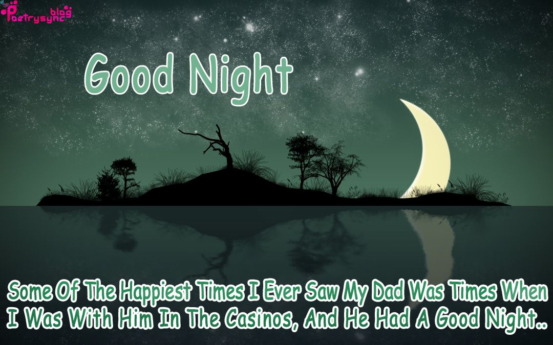 Good Night Quotes For Father: Good Night Quotes With Night Images For Facebook
