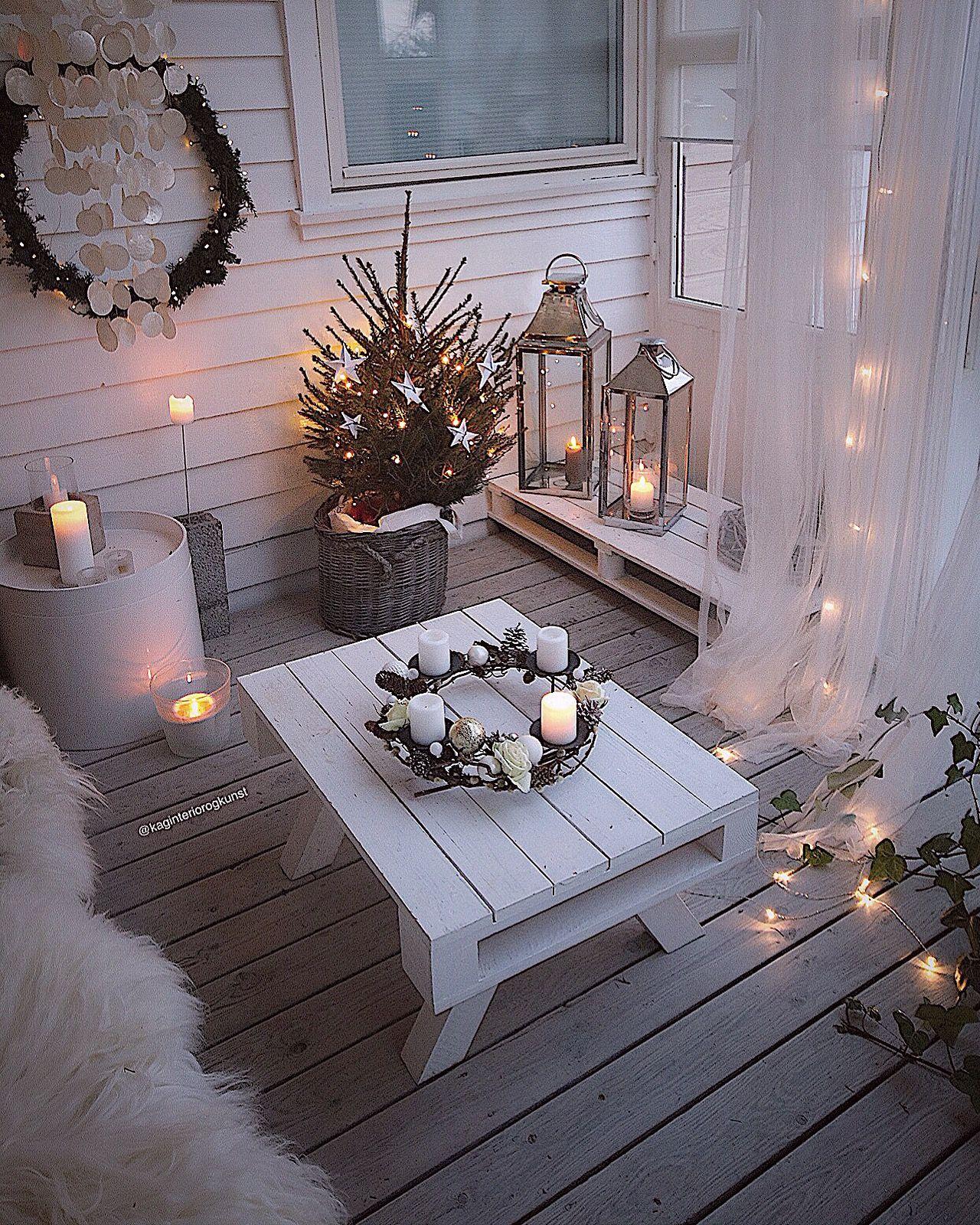 Pin von tammy hooks auf christmas more pinterest dekoration wohnung dekoration und balkon for Gunstige dekoration wohnung
