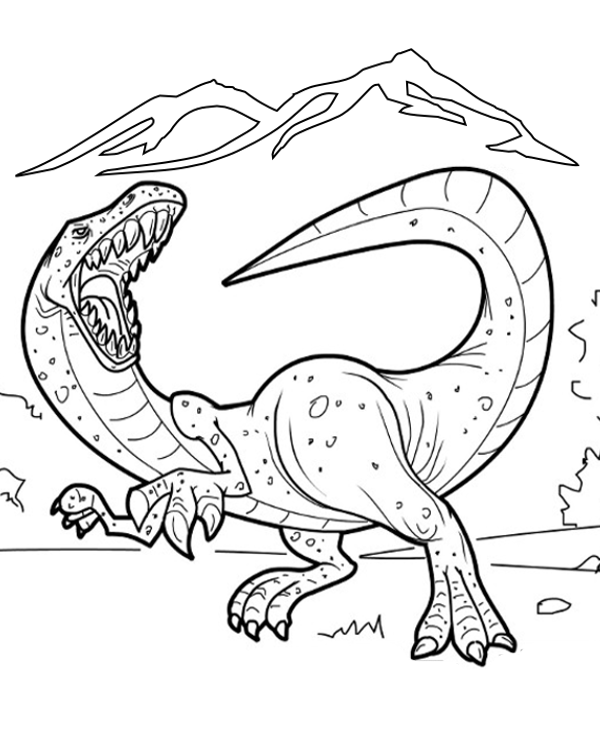The Most Dangerous And Powerful Animals In Human History Have Returned Fortunately Only Paper Version On Our Coloring Pages Do You Like It