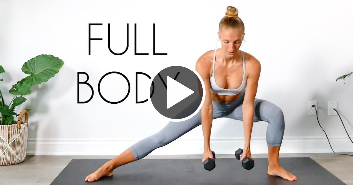 15 min FULL BODY WORKOUT (Beginner Friendly) - FIT LIFE VIDEOS