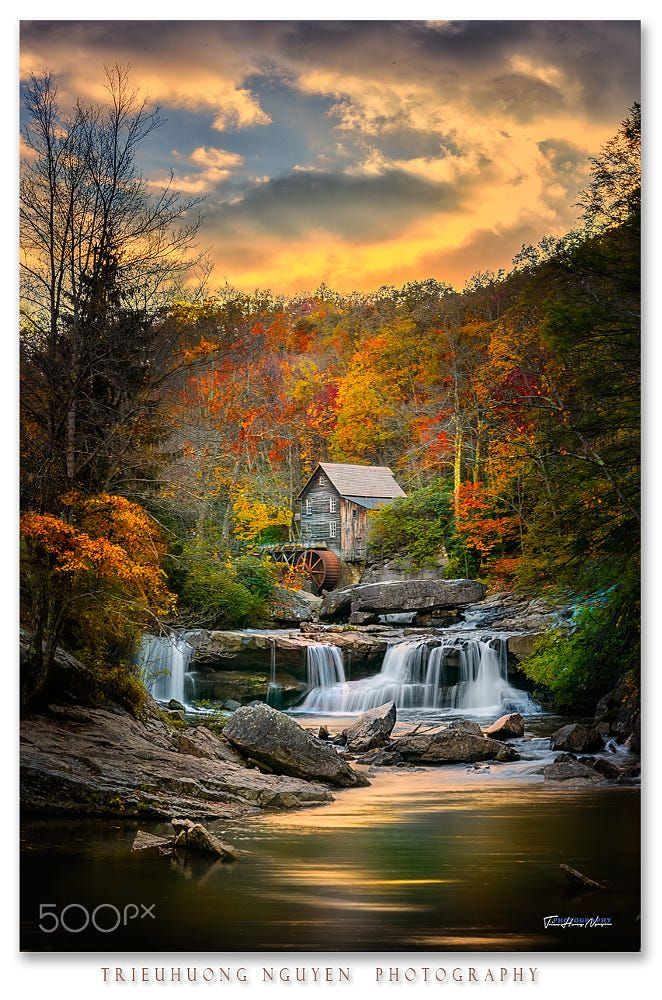 Mill at Babcock State Park - West Virginia Explorer