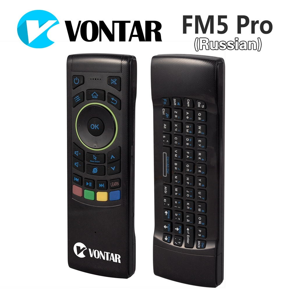10.8$  Watch here - [Genuine] VONTAR Russian i25 Fly Air Mouse 2.4GHz Wireless Keyboard IR Remote Motion sensing game Combo FM5 Pro Android Box PC   #magazine