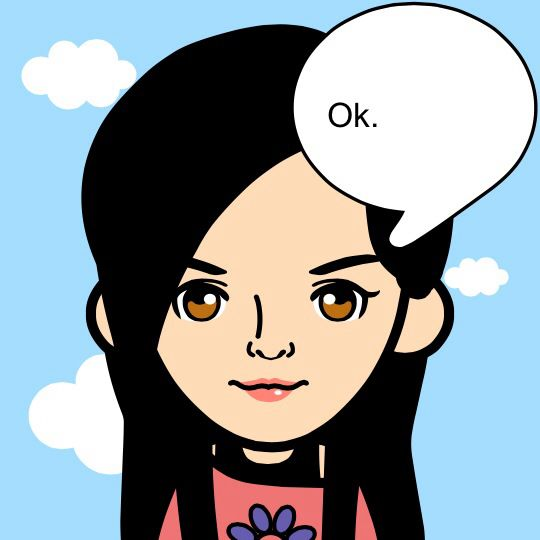 This is my cartoon character