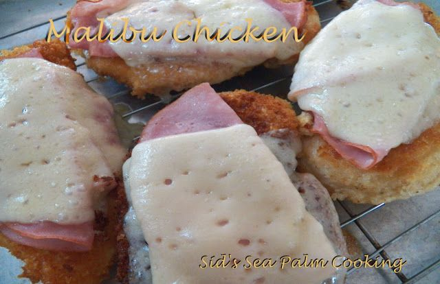 Malibu Chicken, simple, easy and delicious.
