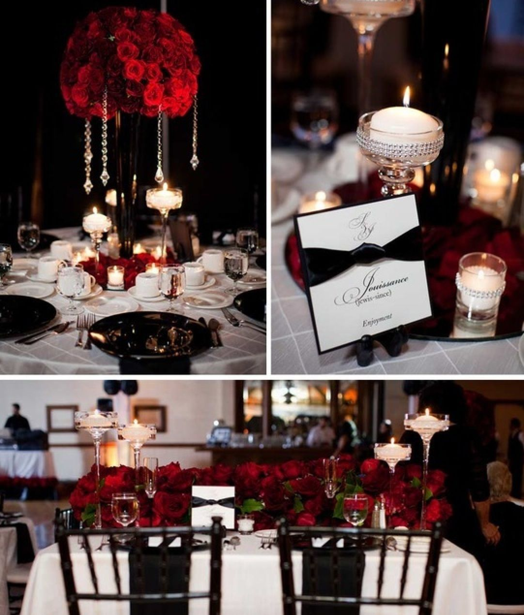 Red Black And Gold Wedding Theme Red Wedding Decorations Red Wedding Black Wedding Table Decorations