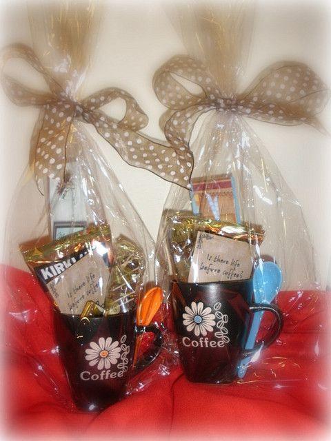coffee mug gift baskets