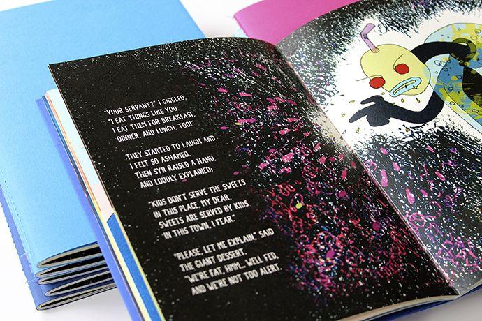 Graphic front - stirea gf - design - - A Sweet Dream. Carte ilustrata pentru copii.