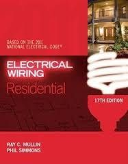 electrical wiring residential 17th ed format pdf size 29 3 rh pinterest com Electrical Wiring Books residential wiring book with review questions