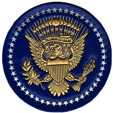 Presidential Seal Patch Presidential Seal Leather Jacket Patches Leather Patches