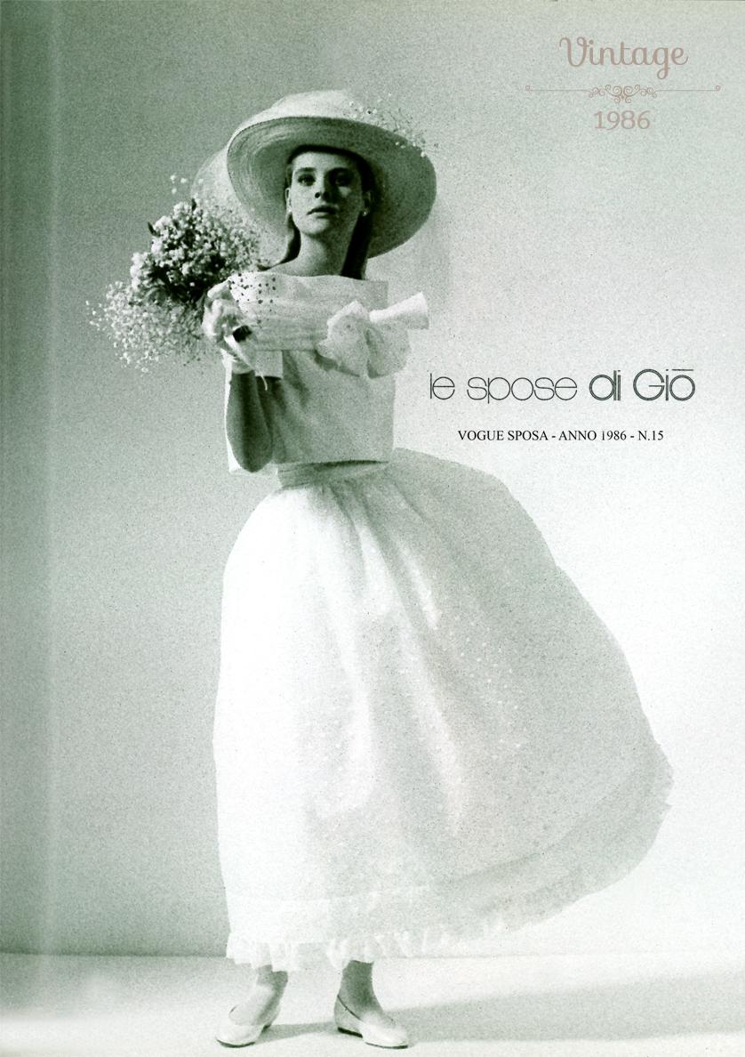 Abiti Da Sposa 1984.Vogue Sposa Gennaio 1986 Sposa Abiti Di Matrimonio Vintage