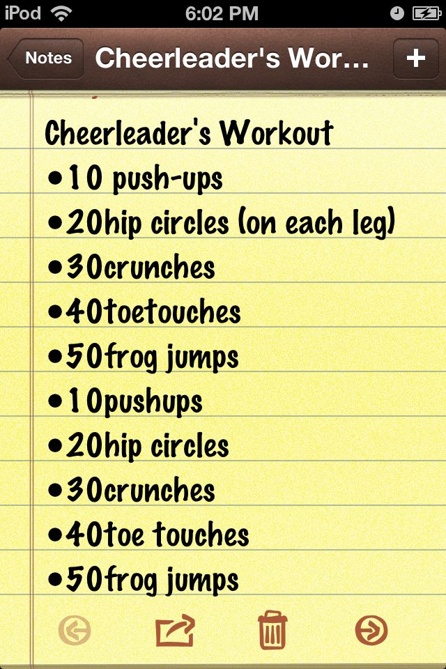 The famous cheerleaders workout for a Sexy, strong  butt,hips,thighs & arms! Gotta love a workout like that