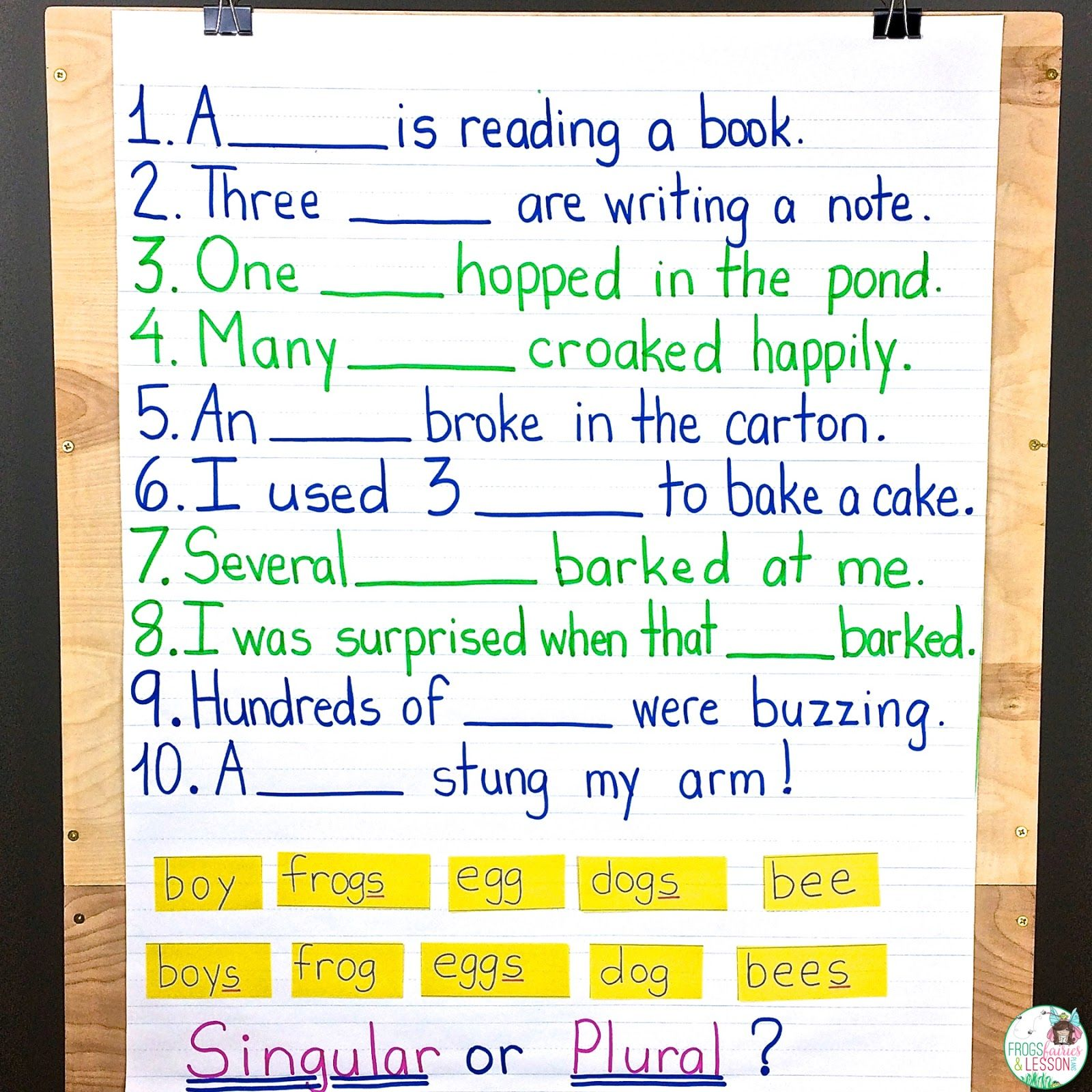 5 Noun Lessons You Need To Teach In 1st Grade
