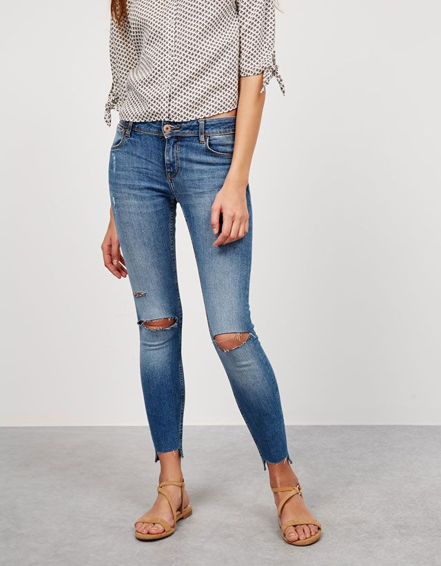 Jeans - NEW COLLECTION - MUJER - Bershka Mexico