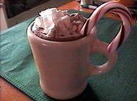 McDonald's Knock Off Hot Chocolate Peppermint Mocha! #recipe