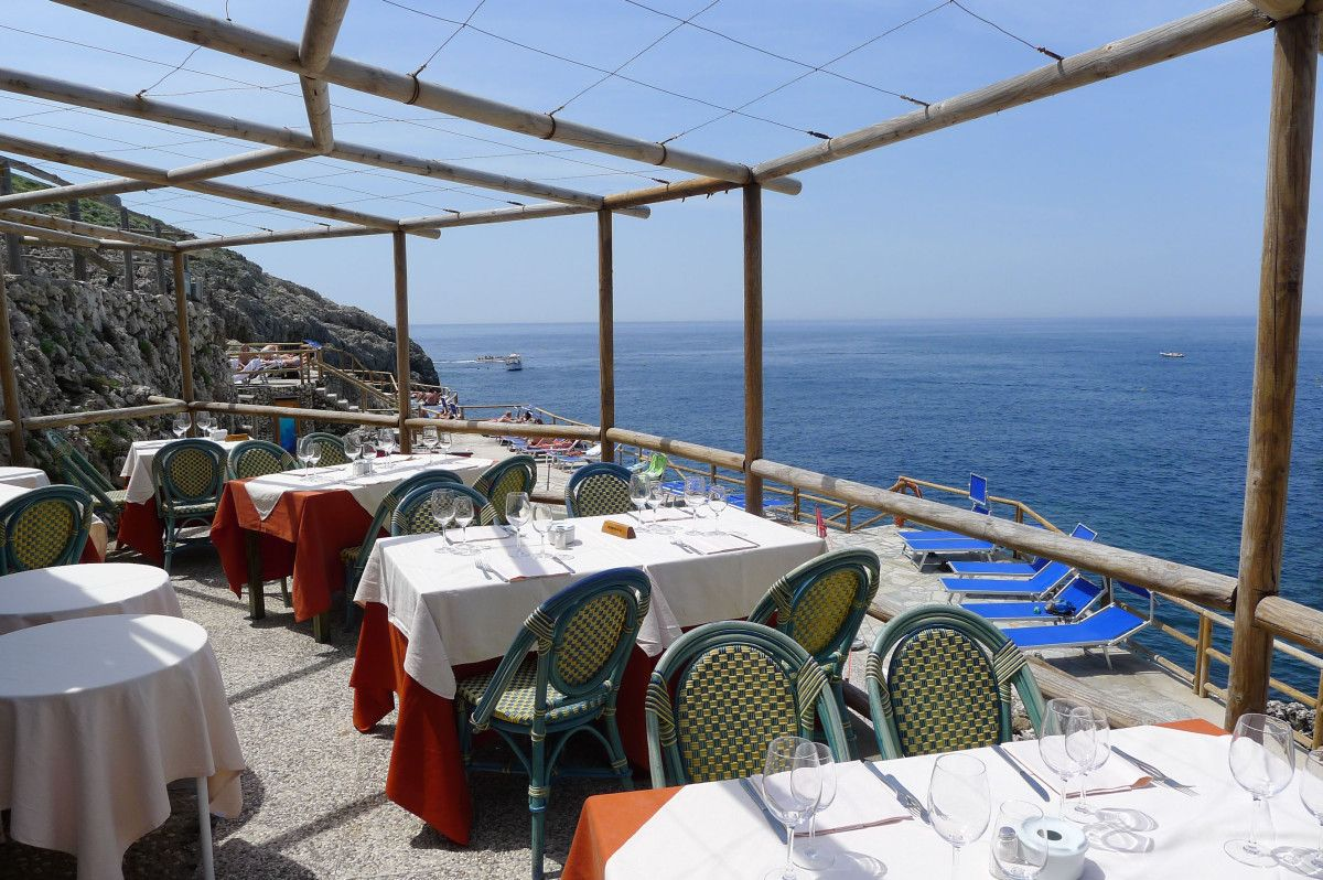Where To Eat In Capri Lido Del Faro Restaurant