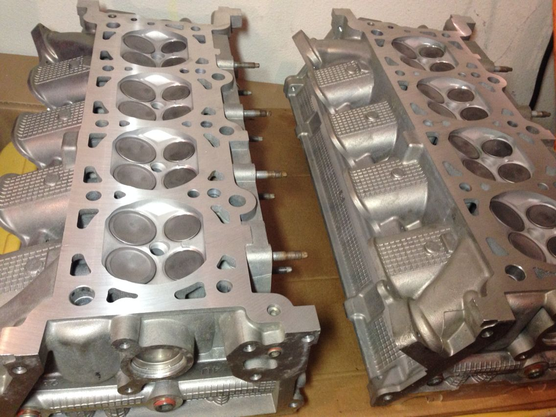 Resurfaced 4v Dohc Marauder Heads With A 3 Angle Valve Job Valve Electronic Products