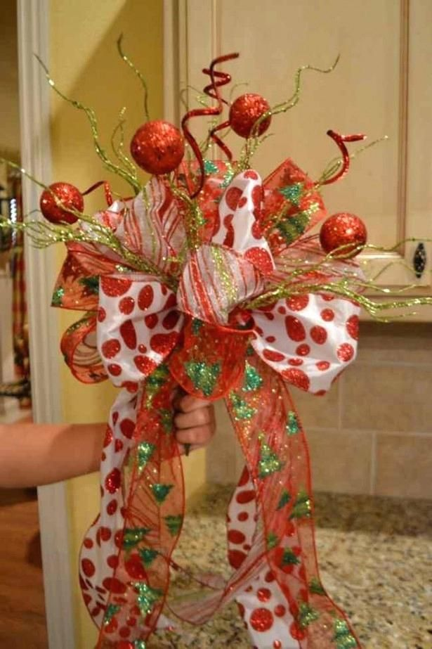 Whimsical Christmas Tree Toppers Outdoor Decorations Trees ...