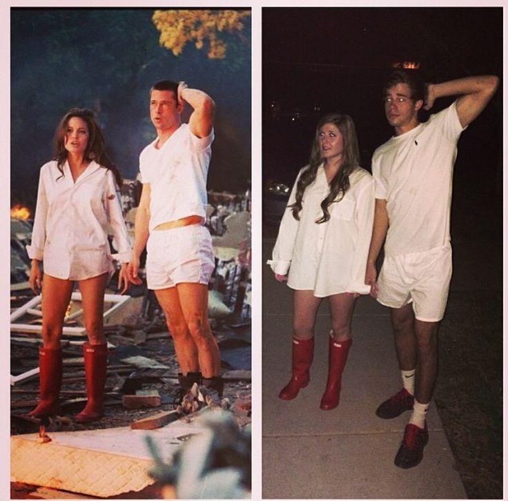 689f33c227a171fd86253d9c0b40f08cjpg (736×726) fantasias Pinterest - halloween costume ideas couple