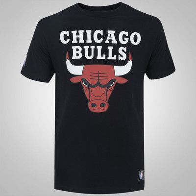 Camiseta New Era Chicago Bulls Basic Logo - Masculina  25572b8f152
