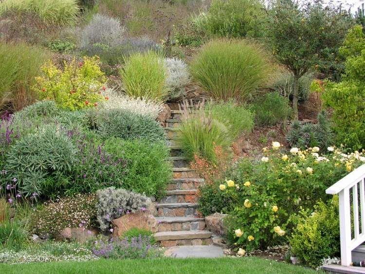 Amnager Son Jardin En Pente  Conseils Pratiques Et Photos  Sloped