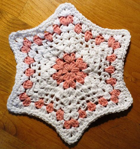 Star dishcloth free #crochet pattern | patterns | Pinterest | Decken ...