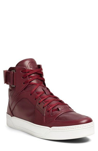 1c903d4baa8 Gucci  New Basketball  High Top Sneaker (Men) available at  Nordstrom  pinned by van xo